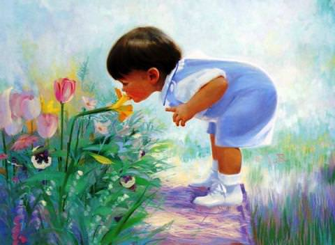 Навчіть не рвати квіти