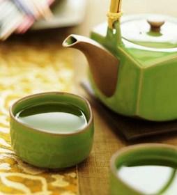 зелений чай для гарного настрою