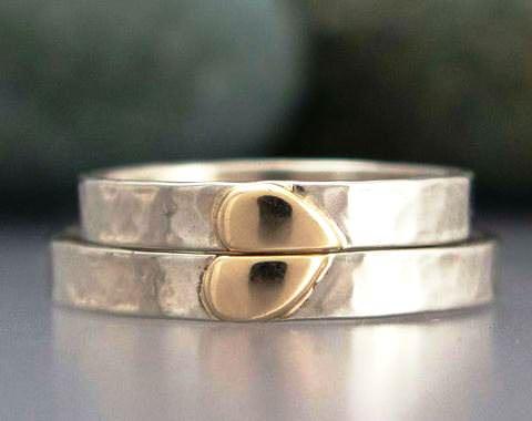 «Ще більш цікаві весільні обручки з металевими вставками 710314877380d